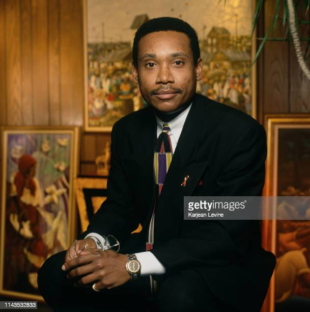 Charles Coupet poses for a portrait on January 11 1994 in New York City New York