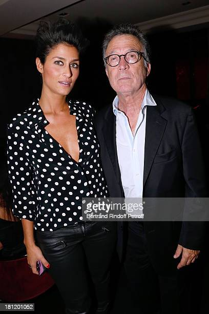 Charles Craven and Claire Safronoff attend 'AClub Party' at Castel on September 19 2013 in Paris France