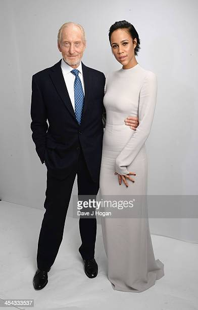 Charles Dance and Zawe Ashton attend the Moet British Independent Film Awards 2013 at Old Billingsgate Market on December 8 2013 in London England