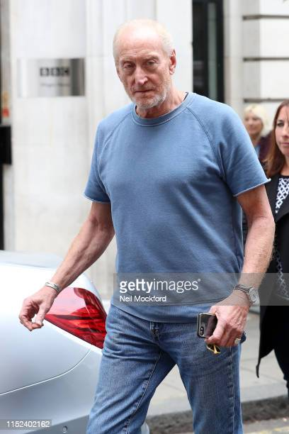 Charles Dance at BBC Radio 2 on May 29 2019 in London England