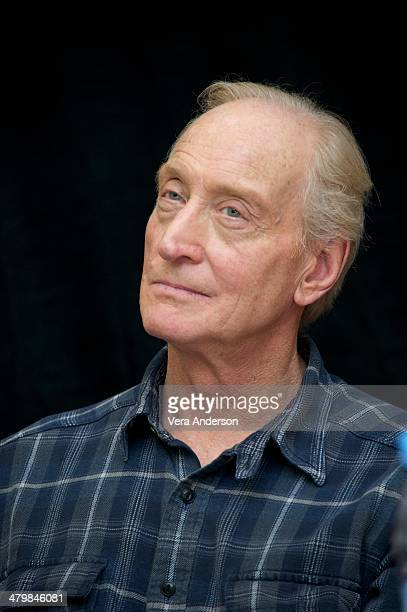Charles Dance at the Game Of Thrones Press Conference at The London Hotel on March 19 2014 in New York City