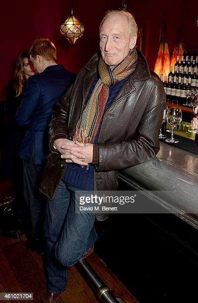 Charles Dance attends a BAFTA Special Screening of Big Eyes hosted by Harvey Weinstein at Soho Hotel on January 4 2015 in London England