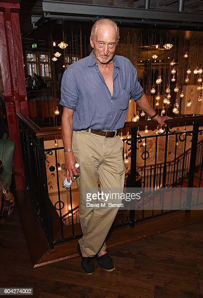 Charles Dance attends a gala screening of Hunt For The Wilderpeople at the Picturehouse Central on September 13 2016 in London England