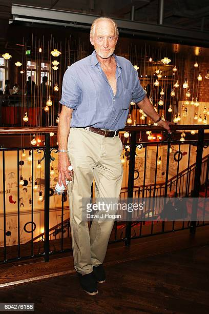Charles Dance attends a gala screening of 'Hunt for the Wilderpeople' at the Picturehouse Central on September 13 2016 in London England