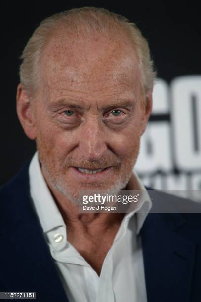 Charles Dance attends GODZILLA II King of the Monsters at Cineworld Leicester Square on May 28 2019 in London England
