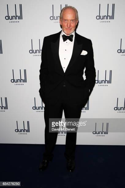 Charles Dance attends the dunhill and Dylan Jones preBAFTA dinner and cocktail reception celebrating Gentlemen in Film at Bourdon House on February 8...