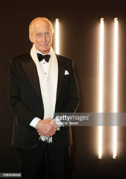 Charles Dance attends the dunhill Pre-BAFTA dinner at dunhill Bourdon House on February 6, 2019 in London, England.
