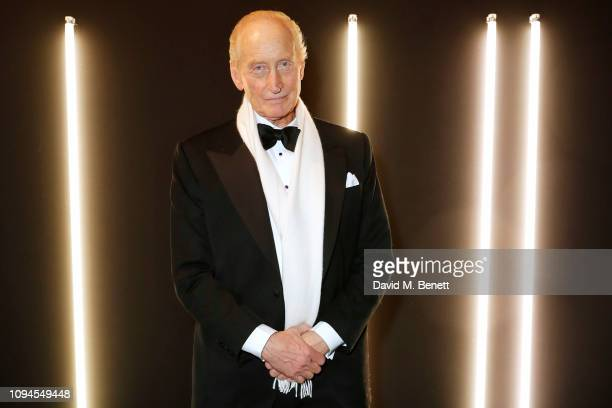 Charles Dance attends the dunhill PreBAFTA dinner at dunhill Bourdon House on February 6 2019 in London England