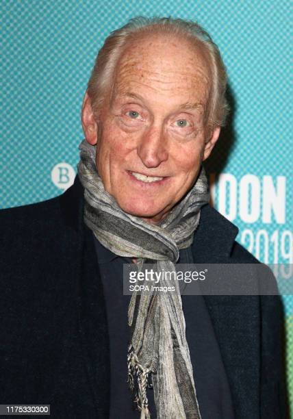 Charles Dance attends the 'Fanny Lye Deliver'd World Premiere during the 63rd BFI London Film Festival at the BFI South Bank in London