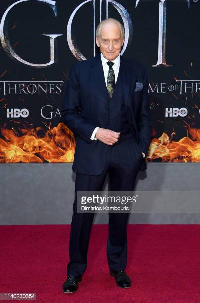 Charles Dance attends the Game Of Thrones Season 8 Premiere on April 03 2019 in New York City