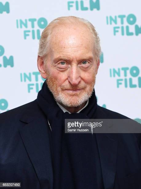 Charles Dance attends the Into Film Awards on March 14 2017 in London United Kingdom