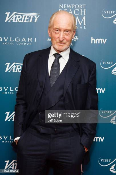 Charles Dance attends the Newport Beach Film Festival Honours at Bulgari Hotel on February 9 2017 in London United Kingdom