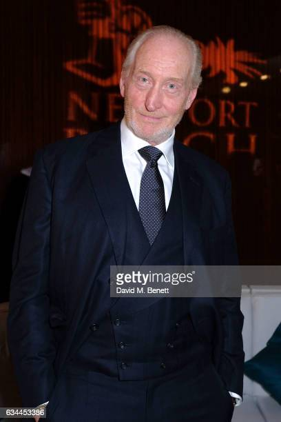 Charles Dance attends the Newport Beach Film Festival Honours at Bvlgari Hotel on February 9 2017 in London United Kingdom