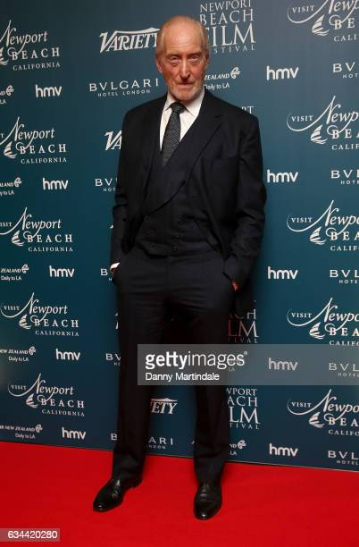 Charles Dance attends the Newport Beach Film Festival Honours on February 9 2017 in London United Kingdom