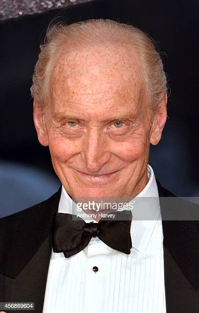 Charles Dance attends the opening night gala screening of The Imitation Game during the 58th BFI London Film Festival at Odeon Leicester Square on...