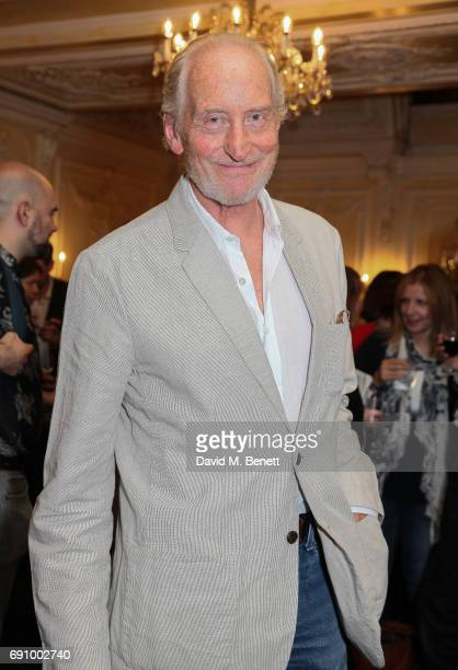 Charles Dance attends the press night performance of Sand In The Sandwiches at the Theatre Royal Haymarket on May 31 2017 in London England