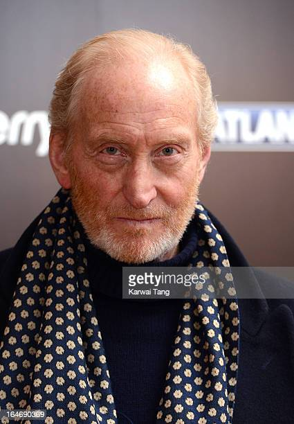 Charles Dance attends the season launch of 'Game of Thrones' at One Marylebone on March 26 2013 in London England