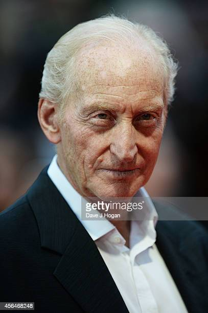 Charles Dance attends the UK premiere of Dracula Untold at Odeon West End on October 1 2014 in London England