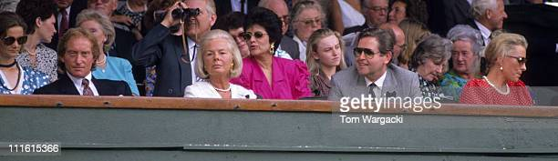 Charles Dance Duchess of Kent John Curry and Princess Michael of Kent in the Royal Box