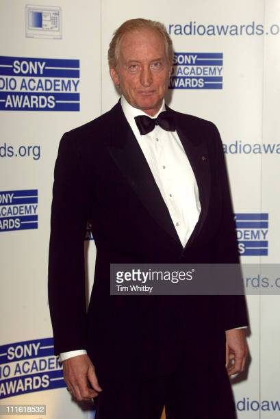 Charles Dance during 2005 Sony Radio Academy Awards at Grosvenor House Hotel in London Great Britain