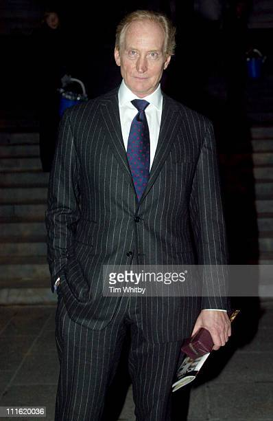 Charles Dance during Cancer Research Christmas Carol Concert at St Paul's Cathedral in London Great Britain