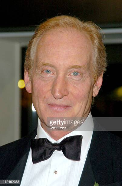 Charles Dance during Ladies in Lavender Royal London Premiere Inside Arrivals at Odeon Leicester Square in London Great Britain