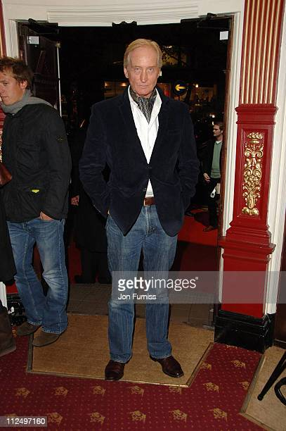 Charles Dance during Starter for 10 London Premiere Inside Arrivals at Coronet Cinema in London Great Britain