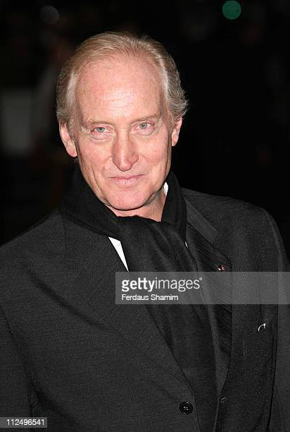 Charles Dance during The Times BFI London Film Festival Babel Closing Night Gala Arrivals at Odeon West End in London Great Britain