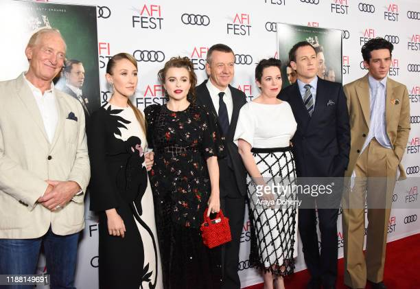 Charles Dance Erin Doherty Helena Bonham Carter Peter Morgan Olivia Colman Tobias Menzies and Josh O'Connor attend AFI Fest The Crown Peter Morgan...