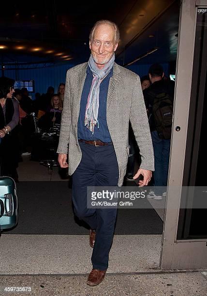 Charles Dance is seen at Los Angeles International Airport on March 16 2013 in Los Angeles California