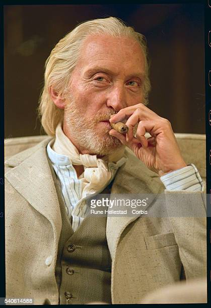 Charles Dance plays James Tyrone in Long Day's Journey into Night on stage Playwright Eugene O'Neill