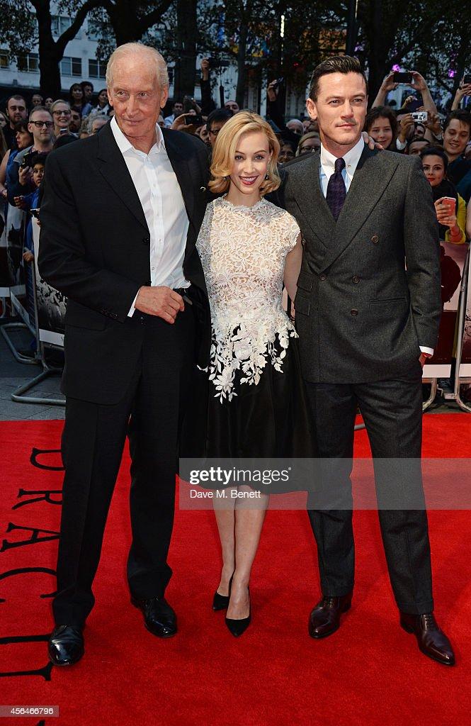 """Dracula Untold"" - UK Premiere - Inside Arrivals : News Photo"