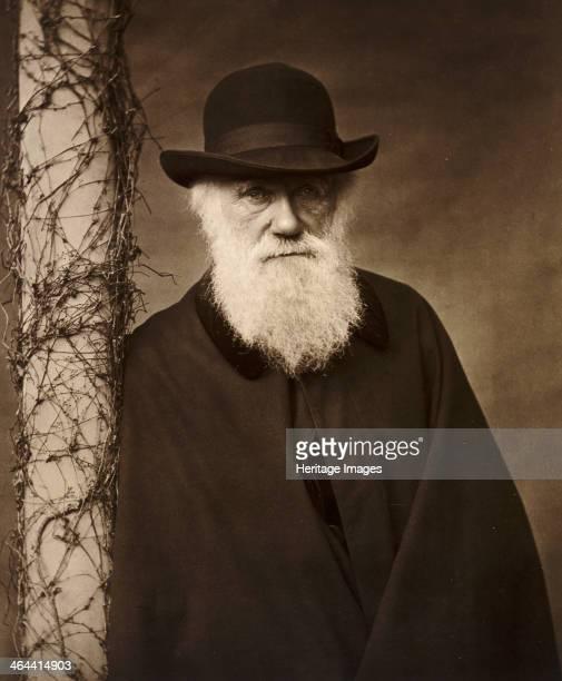 Charles Darwin at his home at Down House Kent c1880