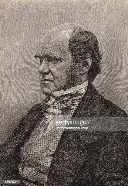 Charles Darwin1809 1882 aged 45 British Naturalist From a photograph by Messrs Maull and Fox Engraved for Harper's Magazine October 1884 From the...