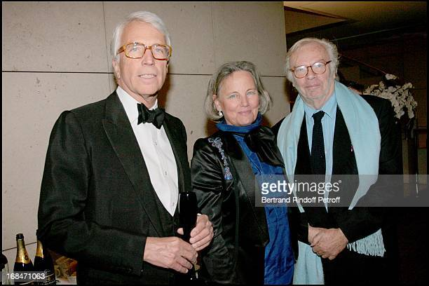 Charles De Croisset and wife with Pierre Jean Remy at Romeo And Juliet Gala Performance At L'Opera Bastille In Aid Of L'Arop