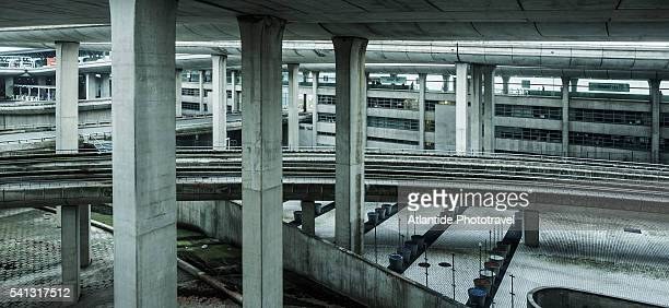 Charles De Gaulle Airport, abandoned area