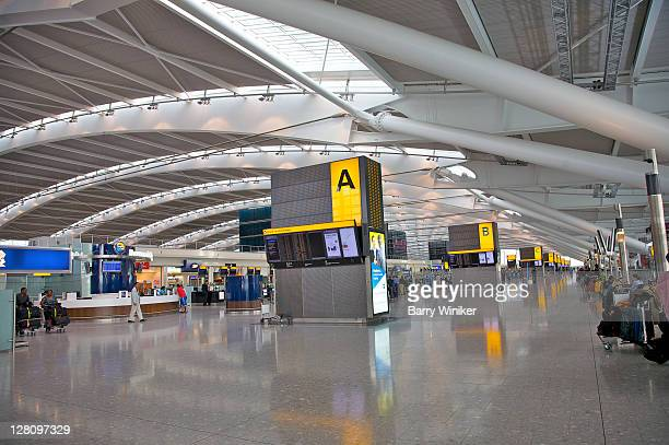 Charles De Gaulle Airport, Paris, Check-in area in Aerogare 2 (Terminal 2E) for international departures