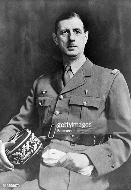 Charles de Gaulle French soldier and statesman in uniform