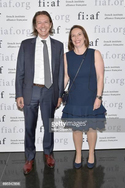 Charles De Lardemelle Cecile De Lardemelle attends French Institute Alliance Francaise 's 2017 Art de Vivre Award Gala at French Institute Alliance...