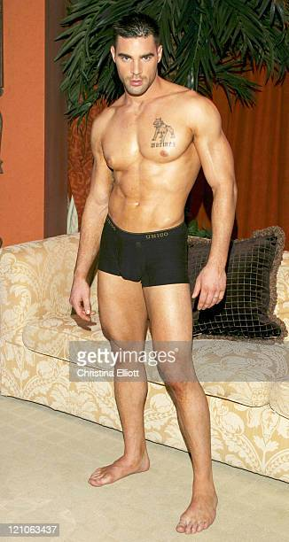 Charles Dera during Chippendales Calender 2005 Photo Shoot at Rio in Las Vegas Nevada United States