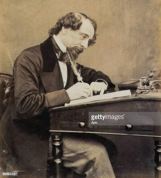 Charles Dickens english novelist 1860's