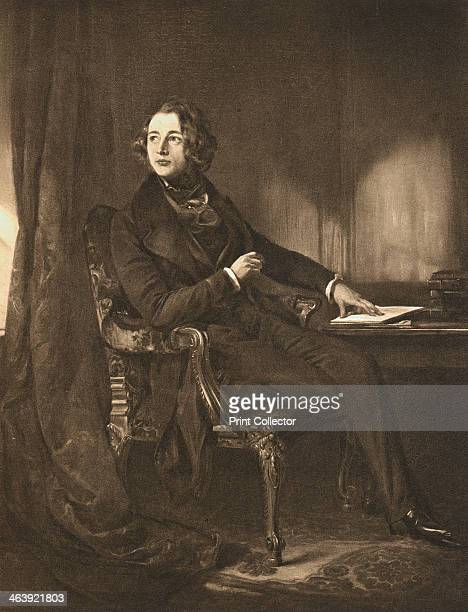 Charles Dickens English novelist and journalist c1836 Portrait of a young Dickens aged about 24 at his desk Dickens began his career as a journalist...