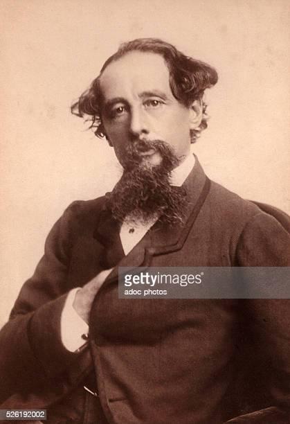 Charles Dickens English writer born at Landport Ca 1860