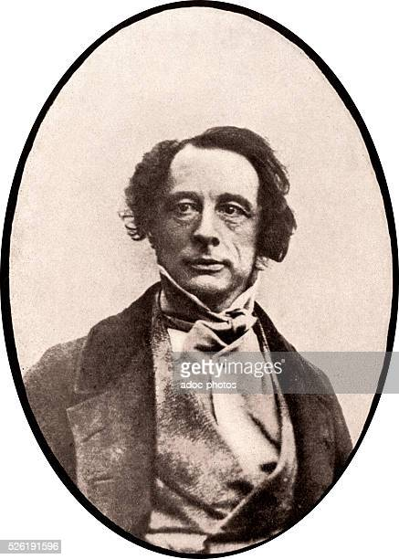 Charles Dickens English writer born at Landport In 1843 After a Daguerreotype