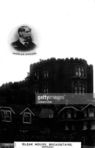 Charles Dickens Photograph of Bleak House Broadstairs the summer home of Charles Dickens between 18371859 Named after his novel of the same name