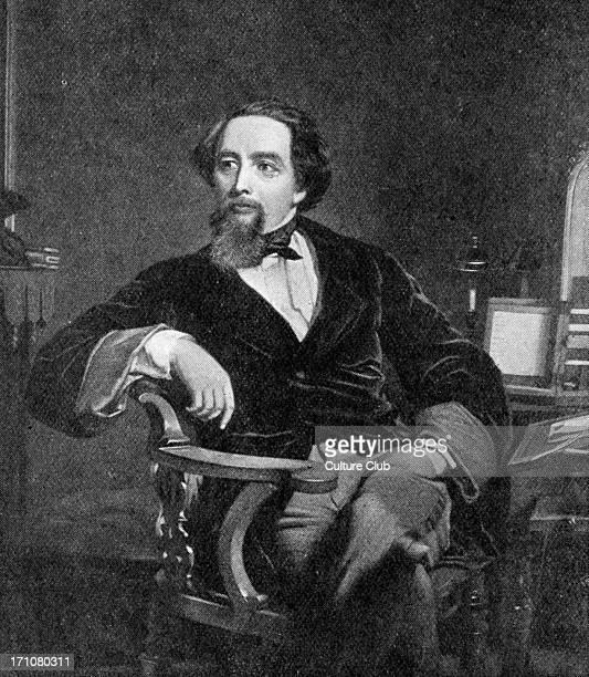 Charles Dickens portrait 1859 British novelist 7 February 1812 9 June 1870