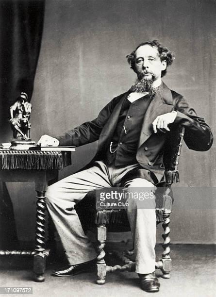 Charles Dickens Portrait of the British novelist 18121870