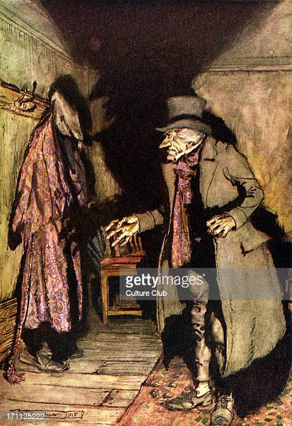 Charles Dickens 's 'A Christmas Carol' 'Nobody under the bed nobody in the closet nobody in his dressinggown which was hanging up in a suspicious...