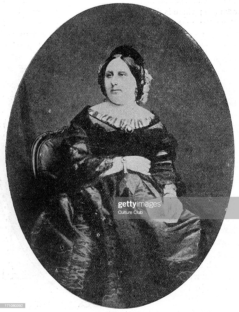 Charles Dickens  ' wife. : News Photo