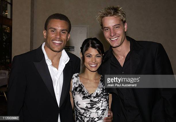 Charles Divins Lindsay Korman and Justin Hartley during 30th Annual Daytime Emmy Awards Creative Arts Presentation at Universal Sheraton in Universal...